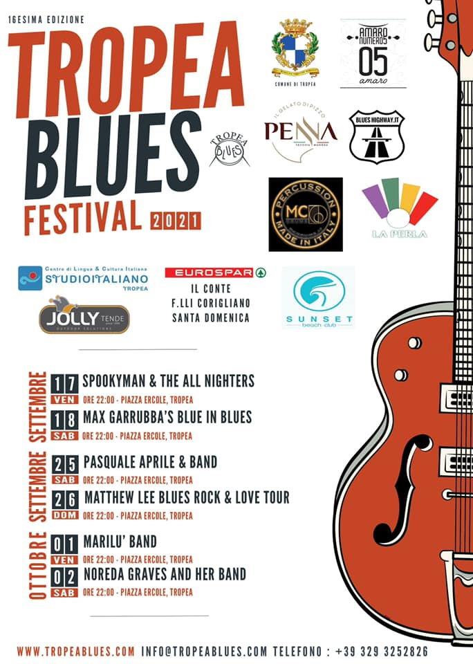 TROPEA Blues Festival 2021